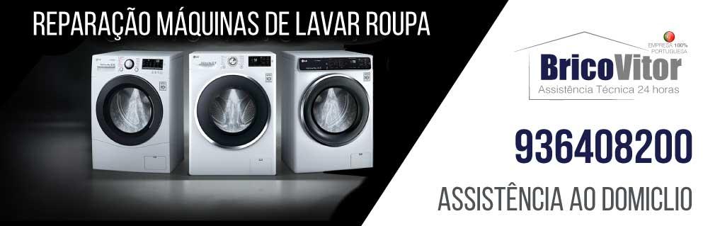 BricoVitor - Reparação máquina de lavar roupa