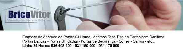 Abertura-de-porta-24-horas-BricoVitor Abertura de Portas e Fechaduras Amadora, Lisboa | Chaveiro | Serralheiro