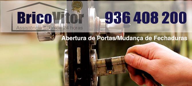 BricoVitor-Abertura-de-Portas-24-Horas-Empresa-de-abertura-e-mudança-de-fechaduras Abertura de Portas e Fechaduras Amadora, Lisboa | Chaveiro | Serralheiro