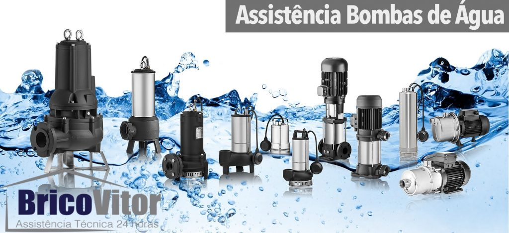 Assistência e reparação bombas de água