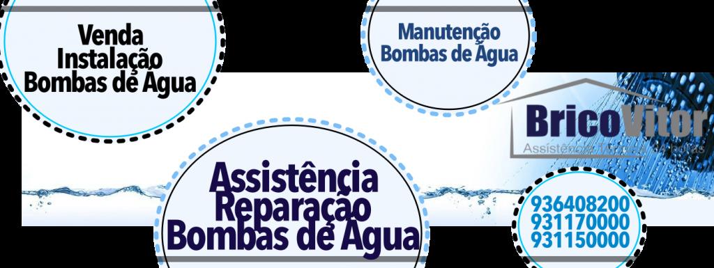 Assistência e reparação bombas de água Amarante