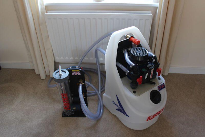 maquina de manutenção aquecimento central
