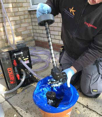 limpeza de aquecimento